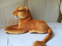 new arrival cartoon lion plush toy about 40cm prone female lion soft toy Christmas gift s2183