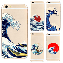 DK Great Wave off Kanagawa hard phone case cover for iPhone 11 Pro Max 6 7 8plus 5 X XS XR XSMax For Samsung s9 s8plus s7 s6edge