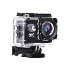 цена на Wifi Action Camera Ultra HD 4K 30fps 16MP 170D 1080P Sport Camera Mini DVR 30M Go Waterproof Pro cam Extreme Sports Video Camera