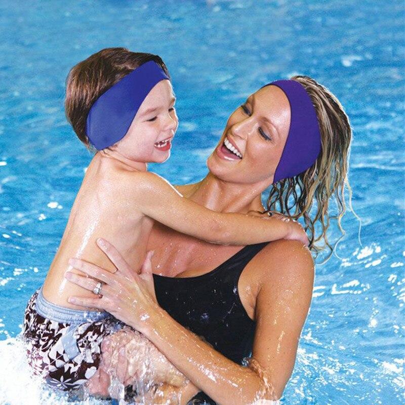Waterproof Ear Headband Diving Swimming Sports Fitness Exercise Equipment Ear Protect Yoga Hair Band Swimming Earplug 5 Color