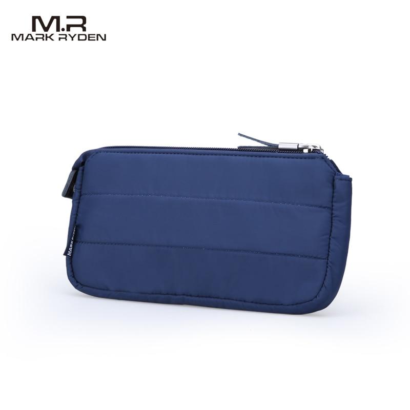 2017 MR Men Women Wallets Large Capacity Handbag Cell Phone Pocket Casual Style Nylon Wallet