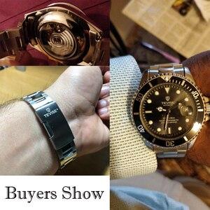 Image 3 - Tevise ブランド男性機械式時計腕時計自動有名なデザインのファッションの高級ゴールド時計 horloges 万年レロジオ masculino
