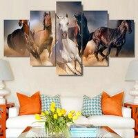 Diy Diamond painting 5pcs/set horse animals square resin diamond sets cross stitch kit decorative,diamond embroidery horse