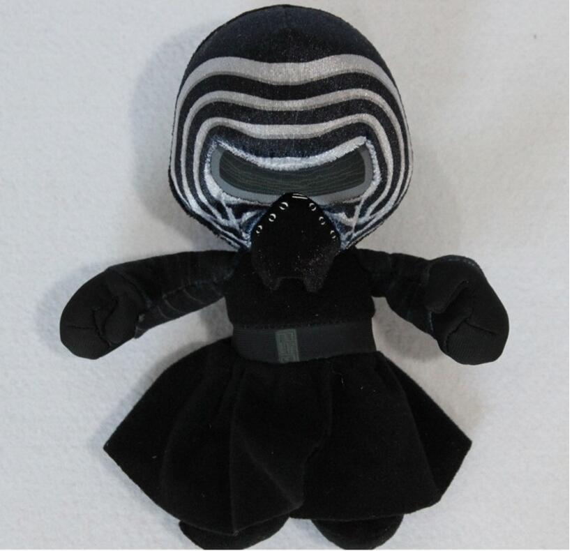 1pcs 20cm 7 9 Original Star Wars 7 KYLO REN Black Knight Figure Stuffed Plush toys