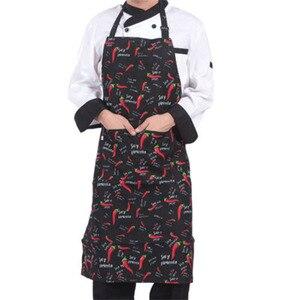 Delantal antimanchas, delantal reutilizable para cocina de Chef, cocina de restaurante, para cocinar y hornear, delantales
