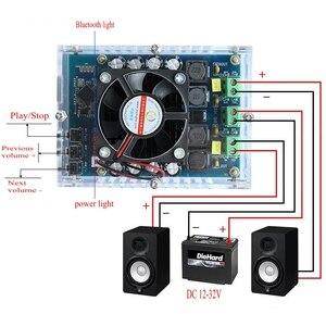 Image 4 - TDA7498 100W X2 Wireless Bluetooth Audio Amplifier Stereo High Power Digital Amplifier Boost Board DC 12V 24V