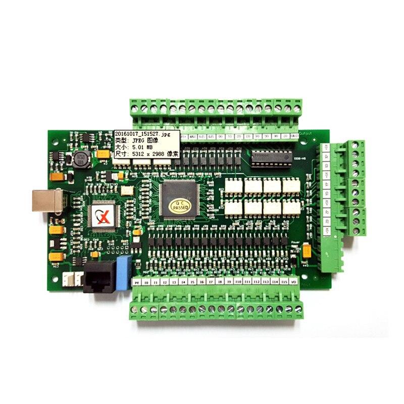 New CNC Controller Driver Board CNC MACH3 USB Motion Card 3 Axis 4axis