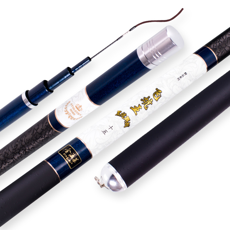 все цены на Carbon Fiber Taiwan Fishing Rod Carp Fishing Rod Fishing Pole 3.9/3.6/4.5/4.8/5.4M Power XH Hand Rod Stream Rod Fishing Tackle онлайн
