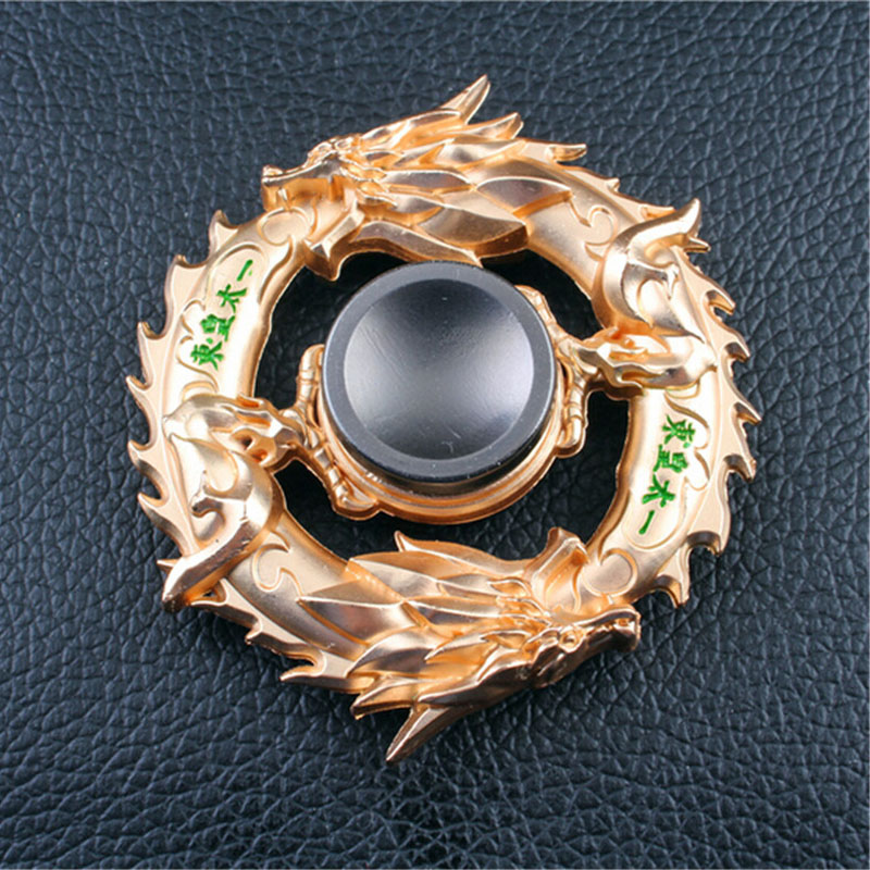 New-golden-Black-dragon-Metal-Fidget-spinner-Zinc-alloy-gyro-rotary-EDC-hand-spinner-for-autism (1)