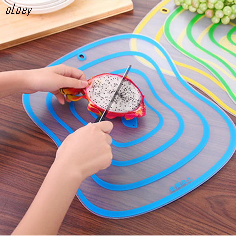Chopping-Board Kitchen-Accessories Plastic Vegetable-Meat-Tools Frosted Non-Slip 1pc