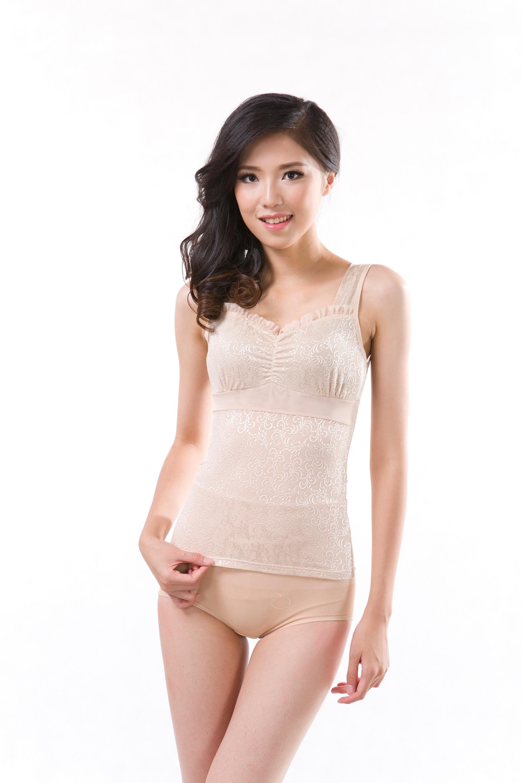 Online Shop Black Skin Color Sexy Female Body Shaper Tops