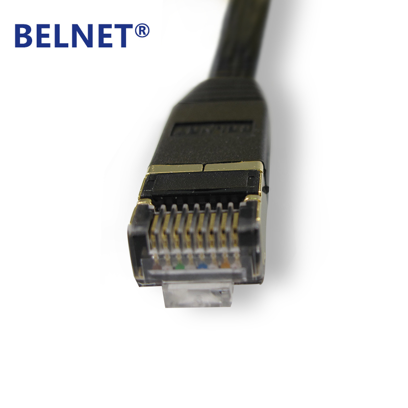 BELNET RJ45 Cat7 Network Patch Ethernet Lan Cord FTP Gigabit Flat - Համակարգչային մալուխներ և միակցիչներ - Լուսանկար 3