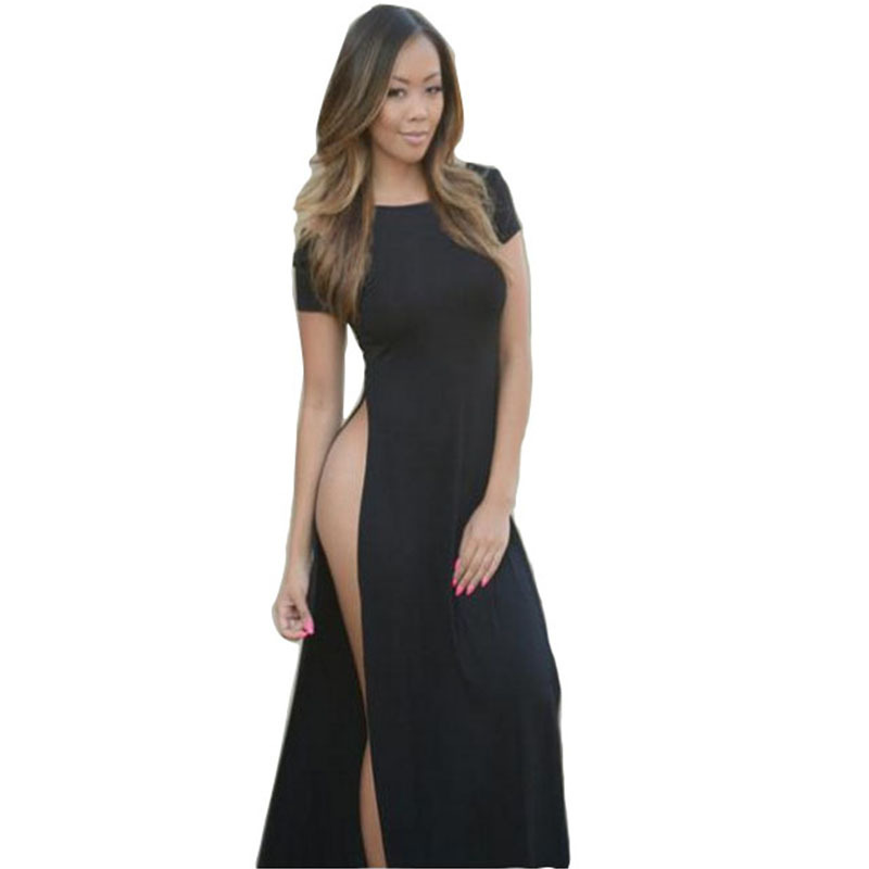 Aliexpress.com : Buy New Womens Celebrity High Quality Cotton Maxi ...