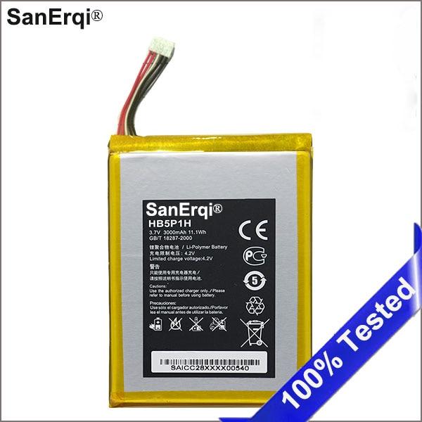 3000mAh HB5P1H Battery For Huawei LTE E5776s E589 R210 Smartphone Battery SanErqi