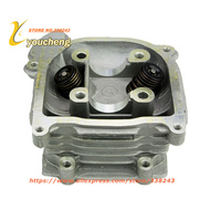 Performance GY6 Scooter Cylinder Head Kit Assy with Valve Spring Oil Seal for 139QMB Chinese Moped Engine Parts GTZC GY6