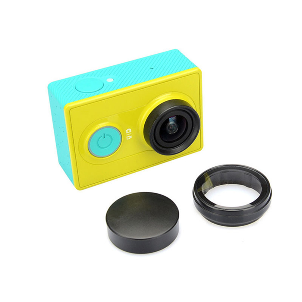 UV Lens Filter for Xiaomi Yi Sport Action Camera Protection Lens Cap Cover for Xiaomi Yi Xiaoyi Camera Accessories