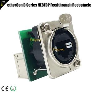 Image 2 - ネットワークコネクタ etherCON D シリーズパネルマウント RJ45 貫通レセプタクルプロオーディオビデオ & 照明ネットワークアプリケーション