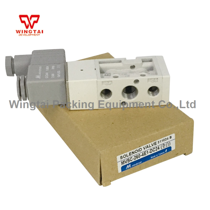 Taiwan Mindman Pneumatic Solenoid Valve MVSC-260-4E1 electromagnetic valve new mindman solenoid valve mvsc 300 4e1 mvsc3004e1 coil ac220v