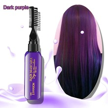 Get more info on the Brand DIY New Hair Dye Color Does Not Pain Hair Easy To Clean Non-toxic One-time Temporary Mascara Hair Cream 13 Colors