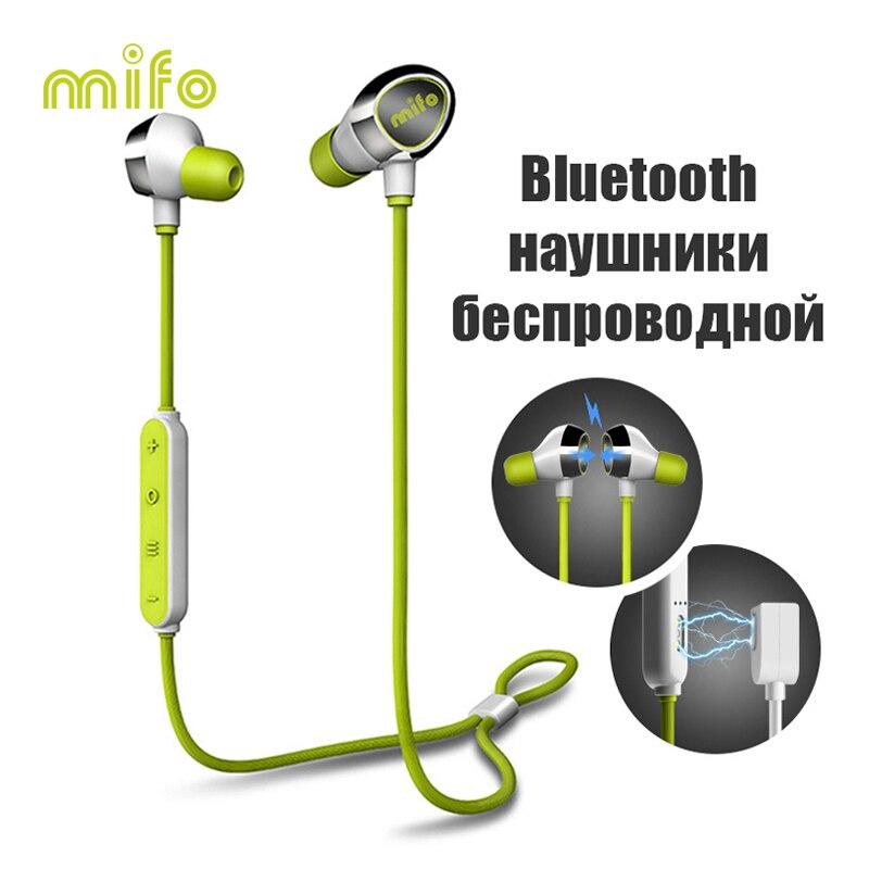 Magnétique Workout Sport Bluetooth Écouteur Courir Écouteurs Stéréo Musique In-Ear Sans Fil Casque Antibruit Écouteur 2018