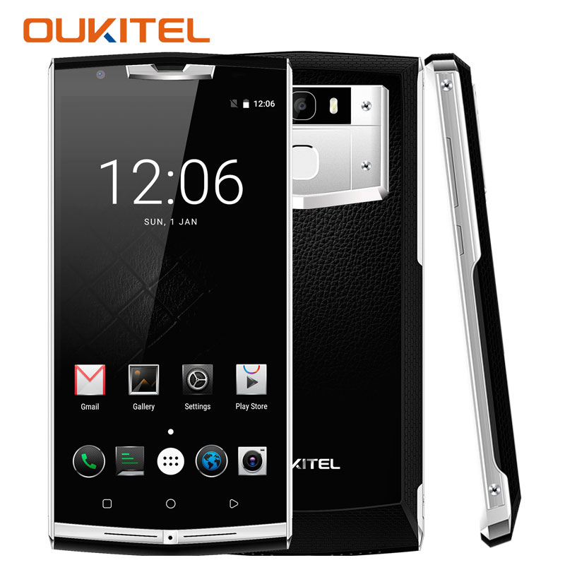 Oukitel K10000 Pro Smartphone 10000mAh Android 7.0 3G RAM+32G ROM 5.5 Inch Octa Core Fingerprint Quick Charge 4G Lte Cell Phones
