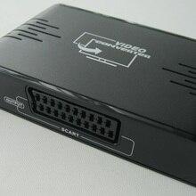 1 шт./лот, LKV382 HDMI конвертер/переходник в Scart, HDMI вход и Scart выход, композитный AV адаптер для Blu-Ray DVD STB небо ТВ