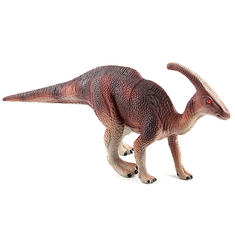 2 Colors Jurassic Dino World Parasaurolophus model figure teaching Collection Childrens birthday Gift model toys