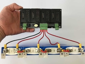 Image 3 - QNBBM 8S aktywny wyrównywacz napięcia wyrównywacz akumulatora moduł do litowego LiFePO4 Li ion 18650, LTO, LIMN NCM