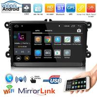 9in TFT 1Din WiFi BT Android Car Stereo MP5 Player GPS Navigator USB FM/AM Radio 16G 1G Car Multimedia Player Car Accessaries