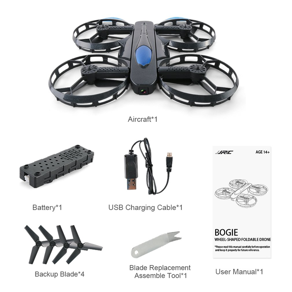 Wifi FPV Quadcopter RC Drone with 2MP Camera Voice Control Altitude Hold Wheel Shaped Foldable Rc Helicopter Kids ToysWifi FPV Quadcopter RC Drone with 2MP Camera Voice Control Altitude Hold Wheel Shaped Foldable Rc Helicopter Kids Toys