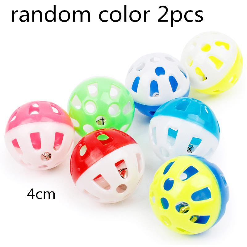 Игрушка-попугай для домашних животных, птица, полый колокольчик, шар для попугаев, кокаин, жевательные игрушки в клетке, 23 - Цвет: 2pcs