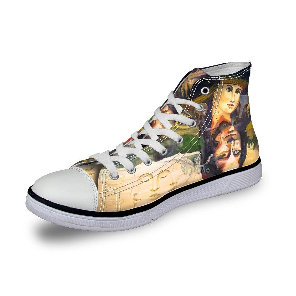 Ayakkab cc2095ak Baskets Vintage cc2117ak Chaussures Plates Toile Impression Vulcanisé Hommes Casual akcustomized Peinture Graffiti cc2094ak Top cc2096ak Garçons High Noisydesigns cc2136ak Cc2093ak 3d EqgzwUS