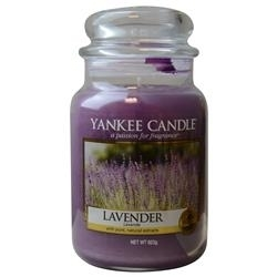 FragranceNet 286978 22 oz Yankee Candle By Lavender Scented Large Jar jewels by jar