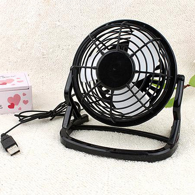 Mini Office Desk Cooling Fan Portable Silent USB Cooler For Laptop Computer PC