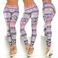 Nueva Moda Casual Mujer Leggings Señoras Leggins Aptitud Elástico Cultiva Su Moralidad Mujer Flaco Legging 36