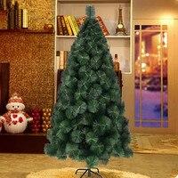 1.5 메터/150 센치메터 암호화 크리스마스 트리 전체 소나무 바늘 나무 크리스마스 호텔 쇼핑몰 홈 장식 장식