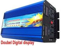6000 Вт пик 3000 Вт Выход Мощность и dc/ac инверторы Тип 3000 Вт солнечные панели чистая синусоида инвертор