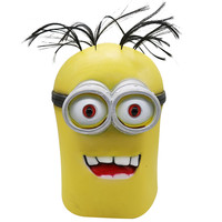 3D Cute Cartoon Kids Mask Full Face Small Yellow People Mask Costume Cosplay Halloween Party Masks Supplies