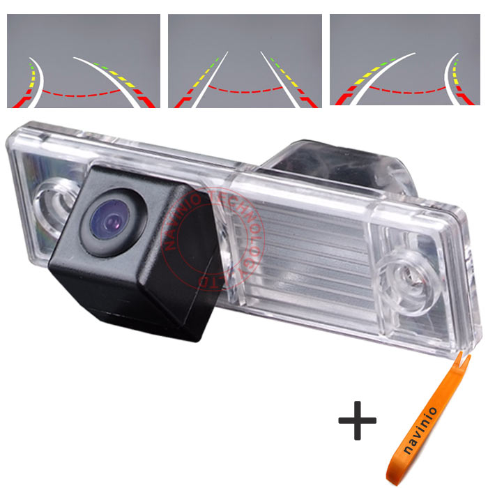 CCD track Camera Reversing Trajectory Back Rear View Camera For Chevrolet Lova Aveo font b Lacetti