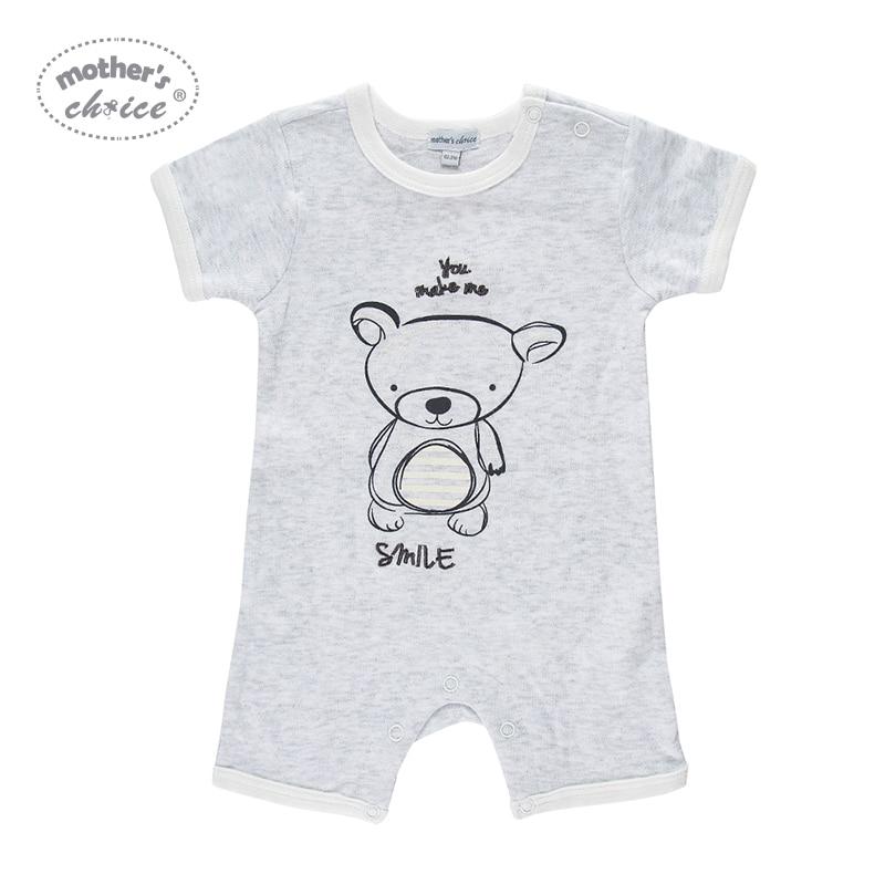 Mother's Choice Summer Short 2pcs / lot Baby Rompers Cotton Noworodek - Odzież dla niemowląt - Zdjęcie 2