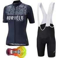 2019 Hot Morvelo Women Cycling Jersey Cycle Short Sleeve Shirt Bicycle Apparel MTB Bike Sportswear Bicycle Ropa Ciclismo 16D gel