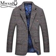 Mwxsd الرجال سترة الصوف دعوى غير رسمية الرجال الدعاوى سليم صالح عادية الذكور السترة دعوى سترة معطف masculino أوم