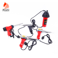 PEGASI 220V Industry Heat Gun Hot Air Gun Adjusting Temperature Electrically Heated Soldering And Welding Power