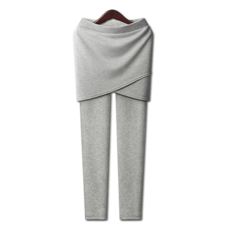 Bright 2019 New Spring Warm Pencil Pants Plus Size Xl-5xl Casual Women Thicken Cotton Skirt Pants High Elastic Comfort Insole Beneficial To Essential Medulla