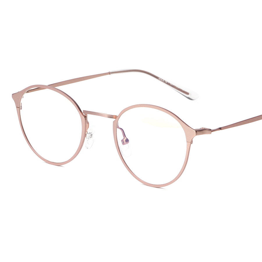 Stainless Steel Eyeglasses Frame Gold Frames for Glasses Vintage ...