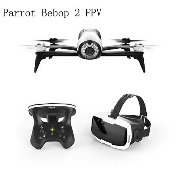 Drone 4K Parrot Bebop 2 Power FPV Drones with Camera HD Quadrupter...