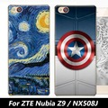 "Para o caso ZTE Nubia Z9 NX508J, Joe marca 3D dos desenhos animados completa capa dura shell pintura de volta caso capa para o ZTE Nubia Z9 nx508j 5.2"""