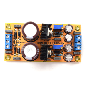 Image 2 - LM317 LM337 DC Adjustable Regulated Power Supply Assembled Module Board positive and negative can adjustable G7 009