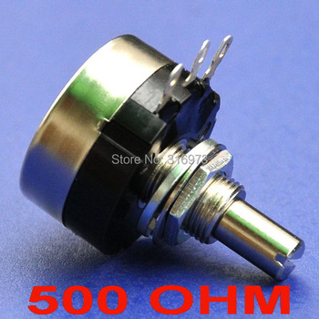 ( 10 pcs/lot ) RV24YN 20S B501 TOCOS COSMOS 500 OHM Industrial Panel Controls Rotary Potentiometer.