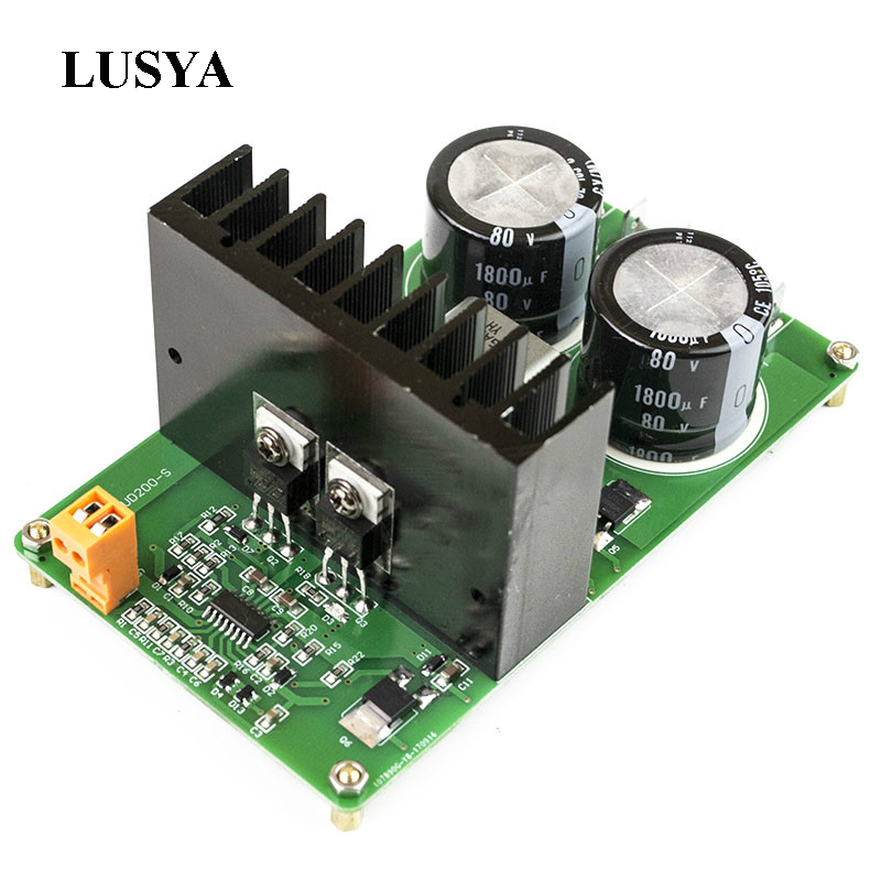 Lusya IRAUD200 High Power Digital audio Amplifier Board IRS2092S Mono 500W HI-FI Amplifier finished Board T0073Lusya IRAUD200 High Power Digital audio Amplifier Board IRS2092S Mono 500W HI-FI Amplifier finished Board T0073